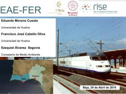 Presentación Subproyecto EAEFER