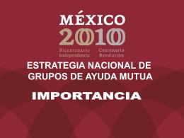 Importancia - Secretaría de Salud