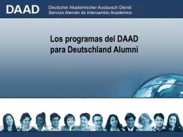 Deutscher Akademischer Austausch Dienst Servicio Alemán de
