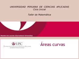 Áreas - Universidad Peruana de Ciencias Aplicadas