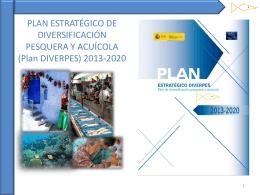 plan estratégico de diversificación pesquera