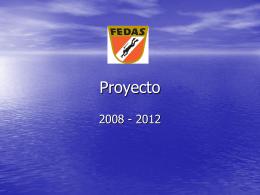 programa fedas 2008 a 2012