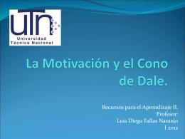 La Motivación y el Cono de Dale.