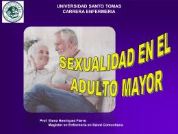 SEXUALIDAD DEL ADULTO MAYOR - Servicio de Salud Talcahuano