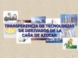7- TECNOLOGIAS PARA TRANSFERIR(cont)