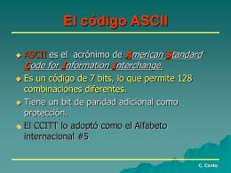 3-CODIGO ASCII