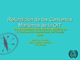 presentación de la Reunión Marítima