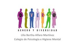 conferencia 6 diversidad de género