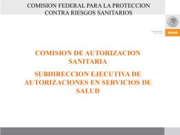 ATRIBUCIONES DEL CENATRA V. - Centro Nacional de Trasplantes