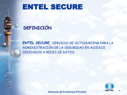 1 entel secure definición entel secure
