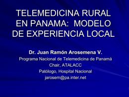 TELEMEDICINA RURAL EN PANAMA