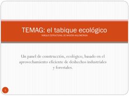 EMAG: el tabique ecologico