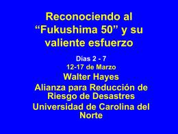 """Reconociendo al """"Fukushima 50"""" y su valiente esfuerzo"""
