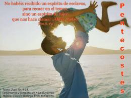 PENTECOSTÉS -B- 27-5-12 - la página de javier leoz