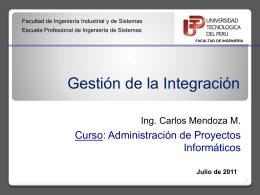 Gestión de Integración - API-APLICACION-DE