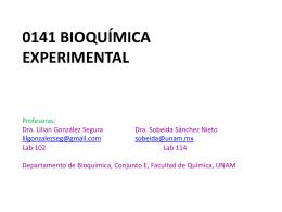 resultados - Bioquimexperimental