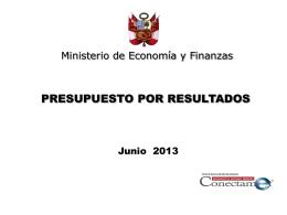 4. Programas Presupuestales - Municipalidad Provincial de Chiclayo