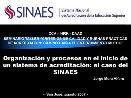 Presentation-CCA-2007