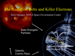 The Radiation Belts and Killer Electrons