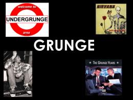 Grunge - Blog de ESPOL