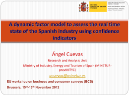 Dynamic factor model - European Commission