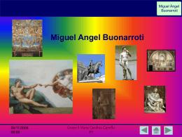 Miguel Angel - Grandes Artistas del Renacimiento