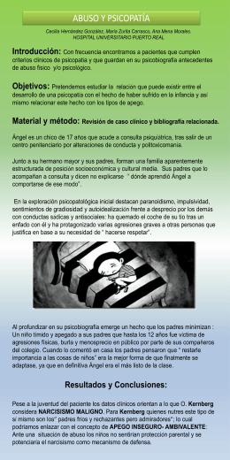 abuso y psicopatía - Melkart Congresos