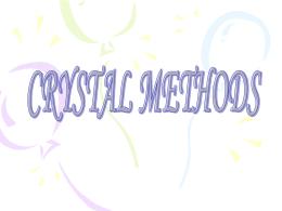 Crystal Clear - quinto diurno