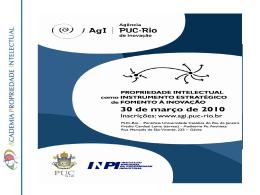 Apresentação - Mestrado PUC 2010