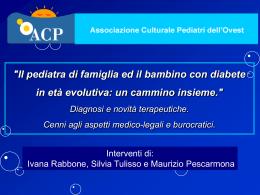 Interventi di: Ivana Rabbone, Silvia Tulisso e Maurizio