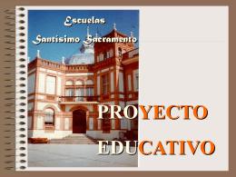 Proyecto_Educativo - Escuelas Santísimo Sacramento