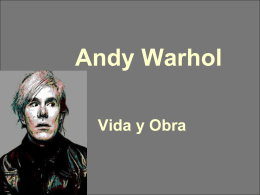 Andy Warhol - Instituto Thomas Alva Edison