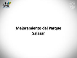 Mejoramiento del Parque Salazar