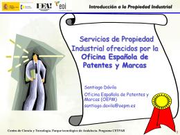 presentacion oficina patentes española
