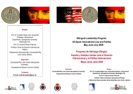 Bilingual Leadership Program