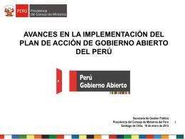 Mariana Llona, Secretaria de Gestión Pública, Presentación