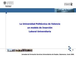 Modelo de Inserción Universitaria.