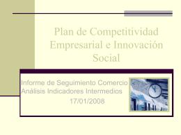 Plan de Competitividad Empresarial e Innovación Social