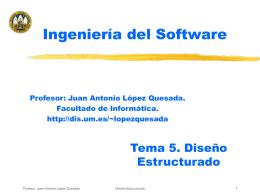 Tema 5 - Escuela de Ingeniería Informática