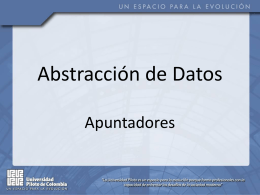 4. Abstraccion Datos Apuntadores