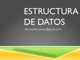 ClaseI-EstruturadeDatos
