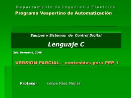ESCD Lenguaje C