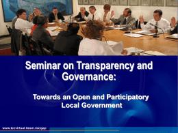 Transparentación