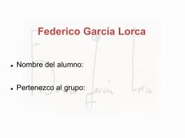 FedericoGarciaLorcaRespuestas