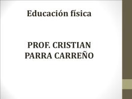 Entrenamiento - Profesor Parra EDF
