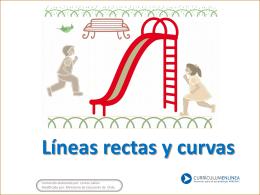 Líneas rectas y curvas