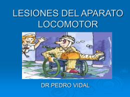 LESIONES DEL APARATO LOCOMOTOR