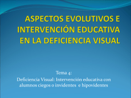 Deficiencia visual- tema 4