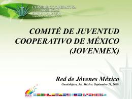 Presentación de JOVENMEX - Alianza Cooperativa Internacional en