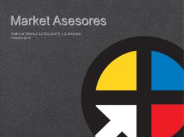 Market Asesores SIMULACIÓN ALCALDES QUITO y GUAYAQUIL
